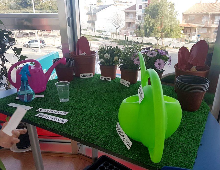 Nueva aula de jardinería en British Academy